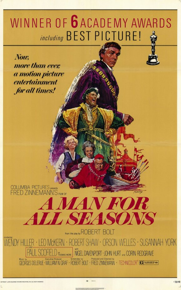 affiche a man for all seasons